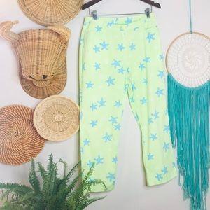 Lilly Pulitzer Vintage Skimmer Starfish Pants
